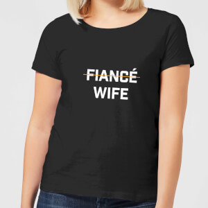 Fiance Wife Women's T-Shirt - Black