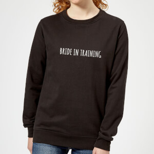 Bride In Training Women's Sweatshirt - Black