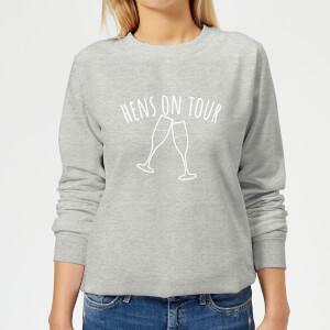 Hen's On Tour Women's Sweatshirt - Grey