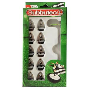 Subbeteo Black and White Team