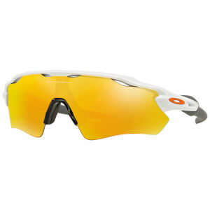 Oakley Radar EV Path Road Sunglasses - Polished White/Fire Iridium