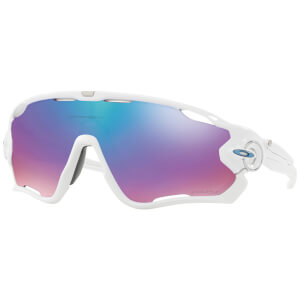 Oakley Jawbreaker Sunglasses - Polished White/Prizm Snow