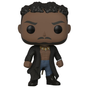 Figurine Pop! Erik Killmonger avec Cicatrices - Black Panther