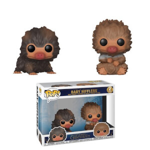 Fantastic Beasts 2 Baby Nifflers Pop! Vinyl 2-Pack