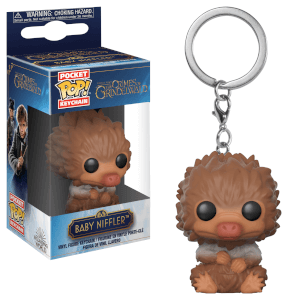 Fantastic Beasts: The Crimes of Gindelwald Tan Baby Niffler Pop! Keychain