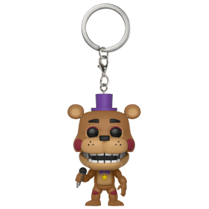 Five Nights at Freddy's Pizzeria Simulator Rockstar Freddy Funko Pop! Keychain