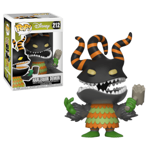 FIGURA POP VINYL! NIGHTMARE BEFORE CHRISTMAS DEMONE ARLECCHINO