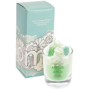 Bomb Cosmetics Mojito Mojo Piped Candle