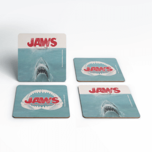 Jaws Bigger Boat Coaster Set