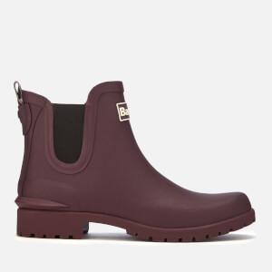 Barbour Women's Wilton Chelsea Boots - Aubergine
