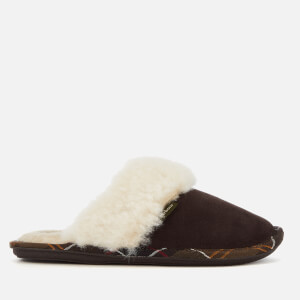 Barbour Women's Lydia Suede Mule Slippers - Brown