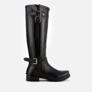 Barbour Women's Cleveland Tall Gloss Wellies - Black