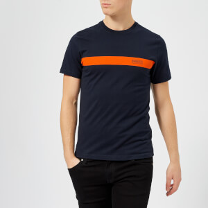 Barbour International Men's Line T-Shirt - Navy
