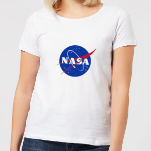 NASA Logo Insignia Dames T-shirt - Wit
