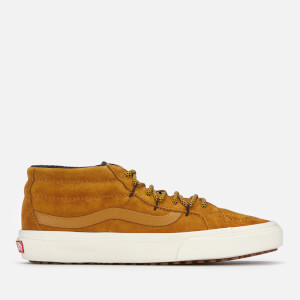 Vans Men's Sk8-Mid Reissue Ghillie Met Water Resistant Trainers - Sudan Brown/Marshmallow