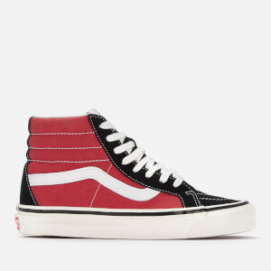 Vans Anaheim Sk8-Hi 38 DX Hi-Top Trainers - Og Black/Og Red