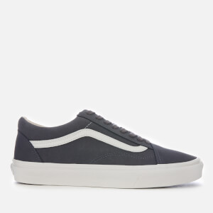 Vans Men's Old Skool Vansbuck Trainers - Asphalt/Blanc Dec Blanc