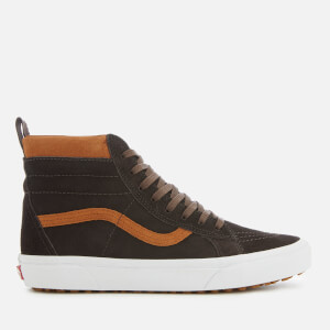 Vans Men's Sk8-Hi Met Water Resistant Trainers - Suede/Chocolate Torte