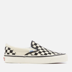 Vans Anaheim Classic 98 DX Slip-On Trainers - Checkerboard/Black/White
