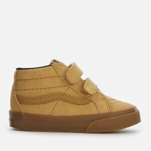 Vans Toddlers' Sk8-Mid Reissue Velcro MTE Water Resistant Trainers - Vansbuck/Apple Cinnamon