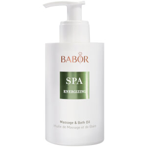 BABOR SPA Energizing Massage and Bath Oil 200ml