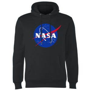 NASA Logo Insignia Hoodie - Schwarz