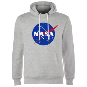 NASA Logo Insignia Hoodie - Grau