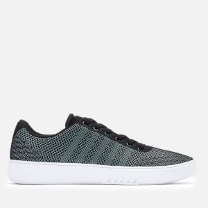 K-Swiss Men's Court Addison NT Trainers - Black/Gull Gray
