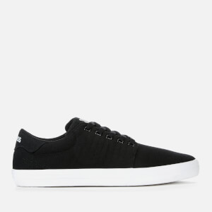 K-Swiss Men's Backspin Trainers - Black/White