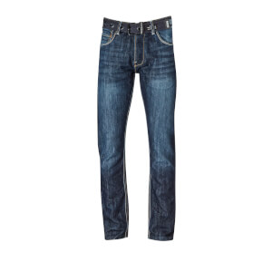 Crosshatch Men's New Techno Jeans - Dark Wash