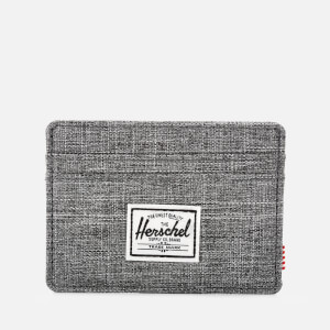 Herschel Supply Co. Men's Charlie Card Holder - Raven Crosshatch