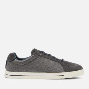 Ted Baker Men's Eeril Suede/Textile Low Top Trainers - Dark Grey