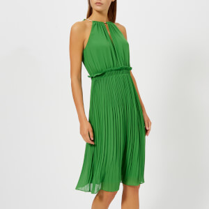 MICHAEL MICHAEL KORS Women's Chain Midi Dress - Green