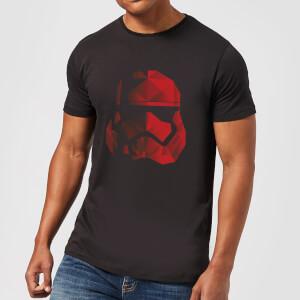 Star Wars Jedi Cubist Trooper Helmet Schwarz T-Shirt - Schwarz