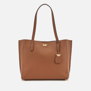 MICHAEL MICHAEL KORS Women's Ana Medium East West Bonded Tote Bag - Acorn