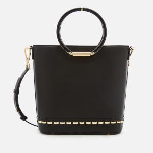 MICHAEL MICHAEL KORS Women's Herron Medium Bucket Bag - Black