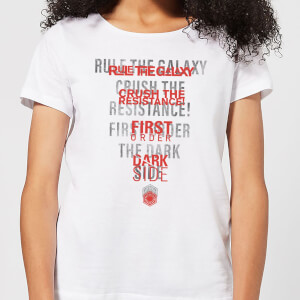 Star Wars Dark Side Echo White Women's T-Shirt - White