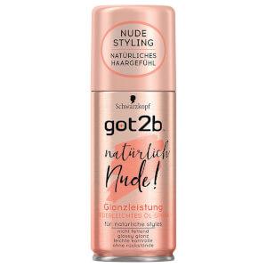 got2b Natürlich Nude! Glanzleistung Federleichtes Öl-Spray