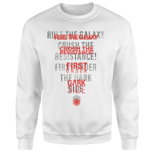Star Wars Dark Side Echo White Sweatshirt - White