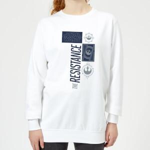 Star Wars The Resistance Weiß Damen Pullover - Weiß
