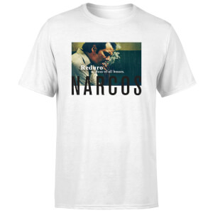 T-Shirt Homme Boss Of All Bosses - Narcos - Blanc