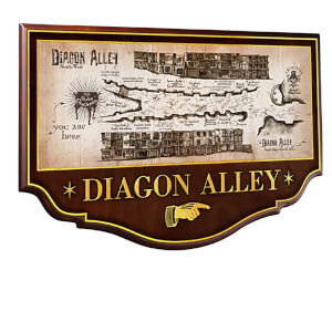Harry Potter Diagon Alley Wall Plaque