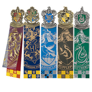 Harry Potter Hogwarts Crest's Bookmark Set