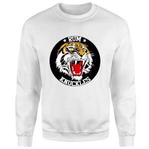 Rum Knuckles Tiger Sweatshirt - White