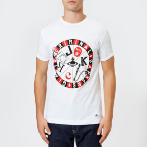 Vivienne Westwood Men's Organic Jersey Printed Peru T-Shirt - White
