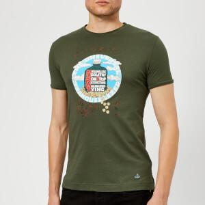 Vivienne Westwood Men's Organic Jersey Printed Peru T-Shirt - Green