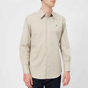 Vivienne Westwood Men's Classic Poplin Shirt - Beige