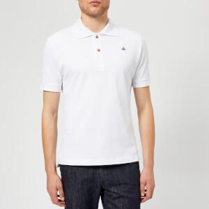 Vivienne Westwood Men's Pique Polo Shirt - White