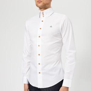 Vivienne Westwood Men's Stretch Poplin Krall Shirt - White