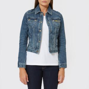 Barbour International Women's Durness Casual Denim Jacket - Light Indigo